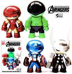 Avengers Toyart by Rotobox