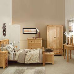 Harrogate Oak Bedroom Furniture Collection Dunelm
