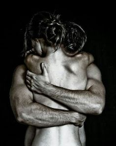 To some this may be inappropriate. But for a husband and wife this is beautiful! Raw vulnerable love. Comfort in each others arms. Love it! Keep it private in the bedroom or personal bathroom! :)