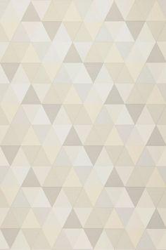 52,02€ Preço por rolo (por m2 9,76€), Papel de parede  infantil, Material base: Papel de parede TNT, Superfície: Liso, Efeito: Mate, Design: Triângulos, Cor base: Crema, Branco acinzentado, Cinza claro, Cor do padrão: Creme, Branco acinzentado, Cinza claro, Características: Boa resistência à luz, Baixa inflamabilidade, Removível, Colar na parede, Lavável com água