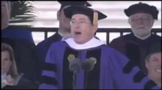 colbert graduation speech - YouTube