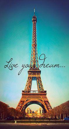 Live Your Dream Paris Eiffel Tower Parallax iPhone 6 Plus HD Wallpaper Cool Backgrounds, Wallpaper Backgrounds, Iphone Backgrounds, Vintage Backgrounds, Nature Wallpaper, Francisco Brennand, Paris Torre Eiffel, Hd Vintage, I Love Paris