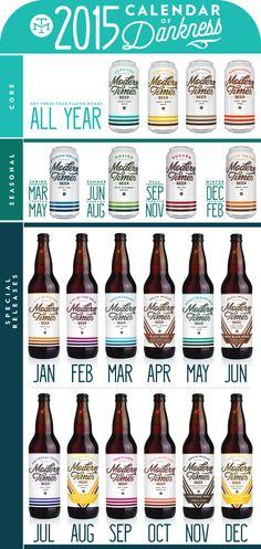 Modern Times Beer Release Calendar   Modern Times Beer
