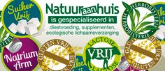 www.natuuraanhuis.be - (web)shop specialised in bio food, gluten free, sugar free, lactose free, low natrium