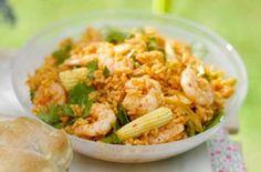 Zingy rice and prawn salad from Essentials magazine recipe - goodtoknow