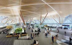 Suvarnabhumi Airport Concourse Interior, HOK