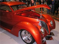 Red Hot  1939 Ford Roadster. LS1 powered, 5 spd. Built by the late Bill Snow of Snow's Hot Rods