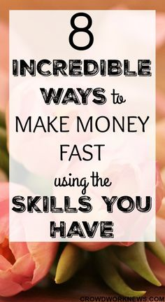 Are you worried that you do not have any skills to work from home? You will be surprised to know that you might be already having the skills to make money online fast. Click through to find out which work at home job skills you possess and start now! #workfromhome #skills #jobs