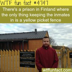 Prison in Finland - WTF fun facts Lol alright Wow Facts, True Facts, Funny Facts, Weird Facts, Random Facts, Strange Facts, Crazy Facts, The More You Know, Good To Know