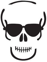 dia de los muertos skull template - Buscar con Google