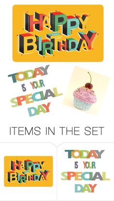 """It's my Birthday!"" by jpc51105 ❤ liked on Polyvore featuring art"