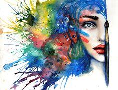 watercolor Music | 50 Mind Blowing Watercolor Paintings | Cuded