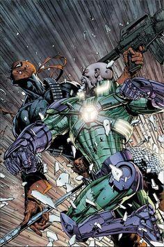 Lex Luthor Vs. Deathstroke