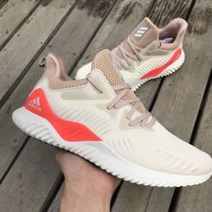 36cc9bcef Adidas Alphabounce Beyond Shoes White Beige CG4763 In-Hand - AnpKick.com