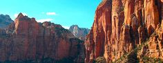 Planning a trip to Zion from Las Vegas? Check out a few pictures and a description of Zion National Park. It's is an easy day trip from the Las Vegas strip to a picturesque canyon in Utah.