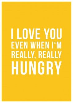 For all of us who get hangry from time to time this card speaks volumes of our love! This funny typographical card is perfect for anniversaries and Valentine's Day. The card is blank inside for your . Funny Valentine, Valentines, Valentine Makeup, Saint Valentine, Valentine Ideas, Cute Quotes, Funny Quotes, Hungry Funny, Signs Of True Love
