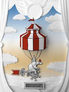 Circus Bear by Book Williams jr