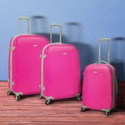 When you travel by plane try to get colorful luggage, it will help you find it faster and according to airport security experts luggage thiefs look for the common black ones.