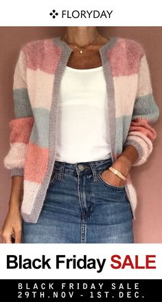 Shop Floryday for affordable Sweaters. Floryday offers latest ladies' Sweaters collections to fit every occasion. Loose Sweater, Sweater Weather, Pulls, Knitwear, Cute Outfits, Pretty Outfits, Beautiful Outfits, Sweaters For Women, My Style