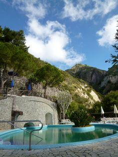 """Giardini Termali, """"Miramare Sea Resort & Spa"""" (Hotel), Sant'Angelo, Isola Ischia,Italia (Maggio)"""