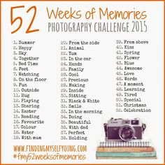 Finding Myself Young: 52 WEEKS OF MEMORIES | 2 - HAPPY Blogger linky