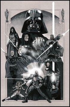 STAR WARS: The Power of the Dark Side by MJasonReed.deviantart.com