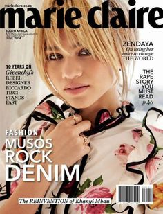 Zendaya - Marie Claire Magazine Cover [South Africa] (June 2016)
