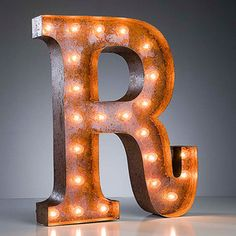 """R"" Marquee Light now featured on Fab."