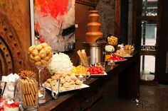 Chocolate Fountain Bar Chocolate Fountain Bar, Chocolate Fountains, Catering, Punch, Toronto, Food Court, Alcoholic Punch