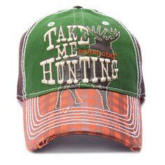 Farm Girl Hunting Cap $19.95