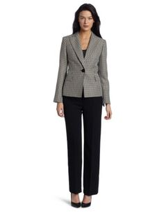 Evan Picone Women's Houndstooth Pant Suit $140.00