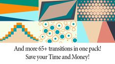 Let us introduce you Pack of Shape Transitions 65+ ! With our cool motion design your video or slide show will be complete and perfect.  http://videohive.net/…/pack-of-shape-transitions-65/16355136  #transitions #transition #template #effect #shape #video #presentation #slideshow #colorful