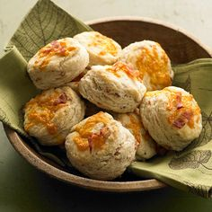 Bacon-Cracked Pepper Biscuits from the Better Homes and Gardens Must-Have Recipes App