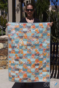 I'm Selling Some Quilts to Benefit Alex's Lemonade Stand | Jaybird Quilts Jaybird Quilts, Quilt Shops, Jay Bird, Foundation Piecing, Teacups, Ruler, Baby Quilts, Lemonade, Quilt Patterns