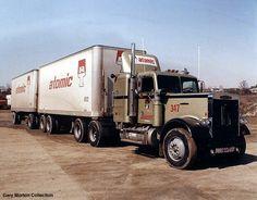 Big Rig Trucks, Semi Trucks, Cool Trucks, Truck Transport, Freightliner Trucks, Road Train, Classic Trucks, Rigs, Tractors