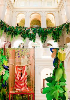 orchard paper installation by gloss creative