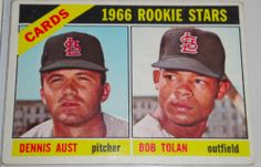 I will sell my 1966 Cards' Rookie Stars topps #179 for $3.00