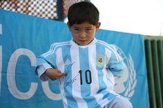 Football=Love — heartsoftruth:   Murtaza Ahmadi, the 5-year-old...