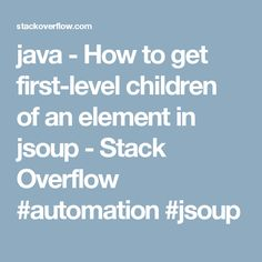 30 best automation images in 2017 | Coffee, Java, Stack overflow