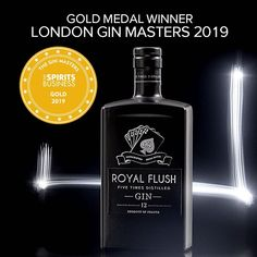 Royal Flush is proud to have been awarded a gold medal at the London Gin Masters Let's raise a glass! London Gin, Gold Medal Winners, Vodka Bottle, Masters, Let It Be, Glass, Instagram, Master's Degree, Drinkware