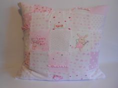 Memory Keepsake Cushion. Made from Baby Clothes.
