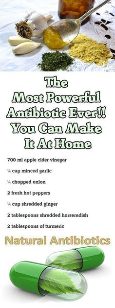 The Most Powerful Antibiotic Ever!! You Can Make It At Home