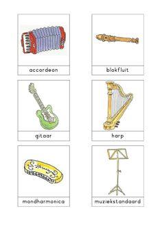 Woordkaarten Bas 'De Muziekwinkel' 1