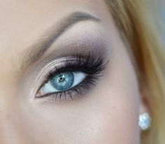 A smoky eye that works for every day! This 'Daily Smoky' look by Aniqua Makeup uses Makeup Geek Eyeshadows in Corrupt, Prom Night, and Shimma Shimma.