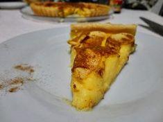 Receitas práticas de culinária: Tarte de Maçã cremosa muito fácil de fazer