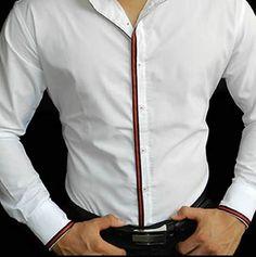 camisa hombre con estilo moda japonesa para caballero