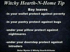 Witchy Home Tips