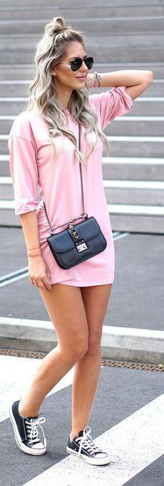 Comfy Girly Outfit Idea by Zorannah.