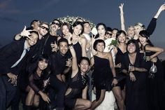 the point of having a wedding party..enjoying it your dearest friends! | by Andrybowo