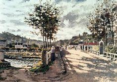 Claude Monet - Le Pont de Bougival